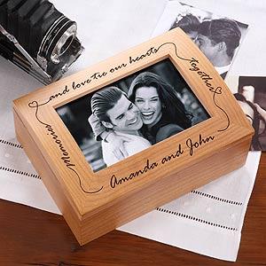 Engraved Memory Card Box