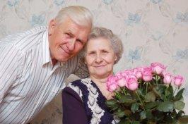 Golden Anniversary Couple